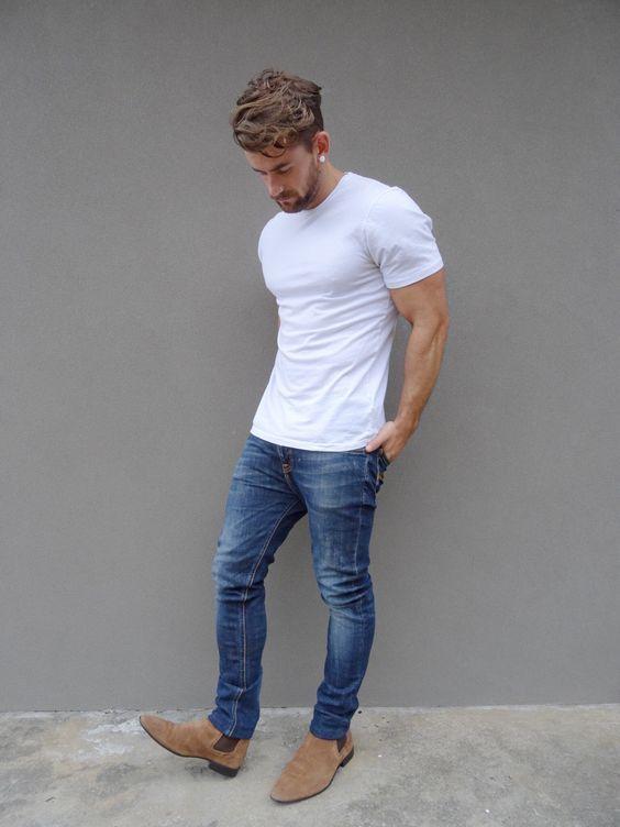 phoi-ao-thun-voi-quan-jeans-nam-basic