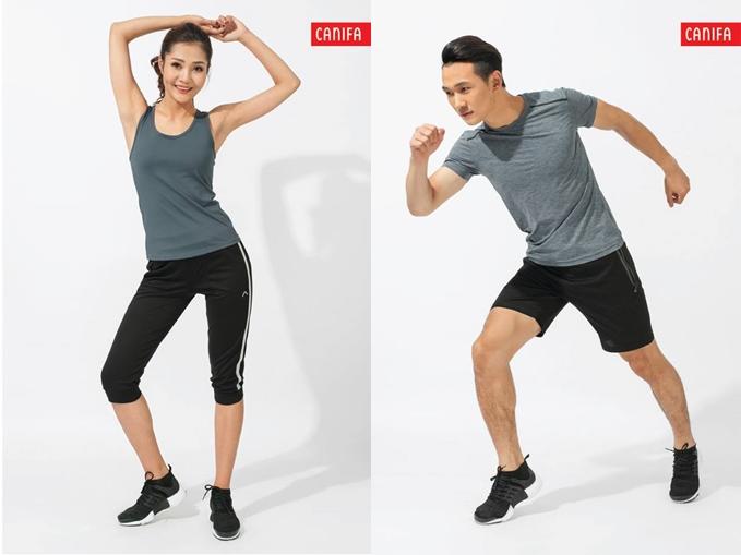 Chọn quần áo tập Gym nam, nữ: Không khó nếu biết cách!