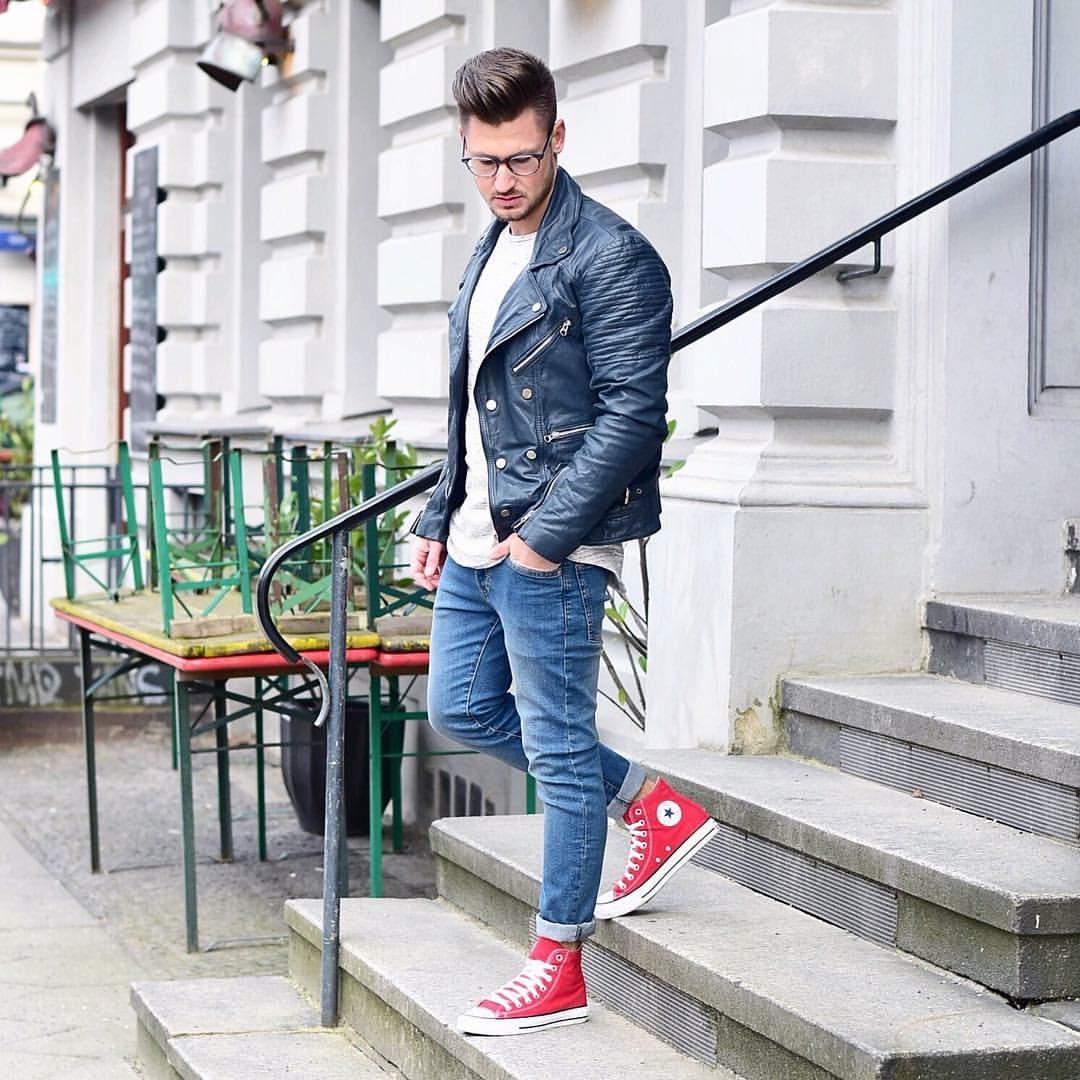 """Mix đồ với giày Converse cổ cao nam: Phối sao cho """"chuẩn""""?"""