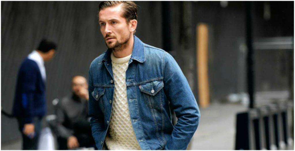 Phối áo khoác jeans nam: Mặc đẹp quá dễ!