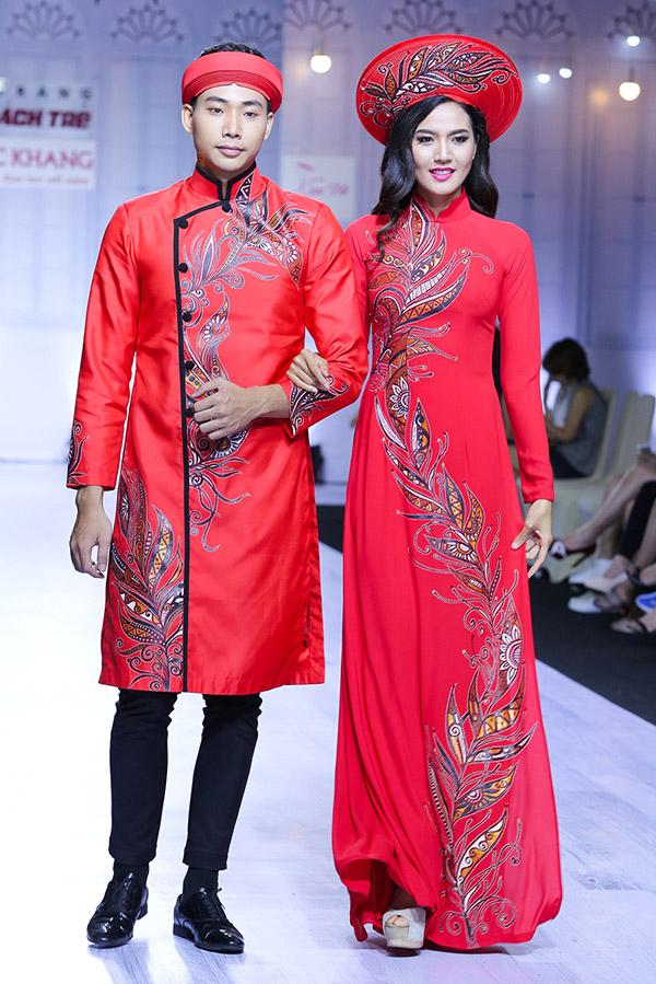 chọn áo dài cưới cách tân cho chú rể