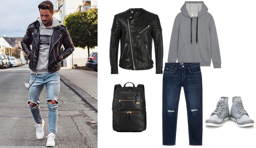 Quần jeans rách nam: Phối đồ sao cho đúng? Mặc sao cho đẹp?