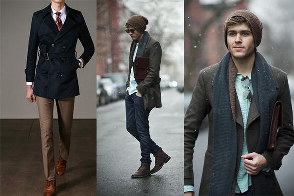 Cách mặc áo măng tô nam cho người thấp: Diện đẹp không khó!