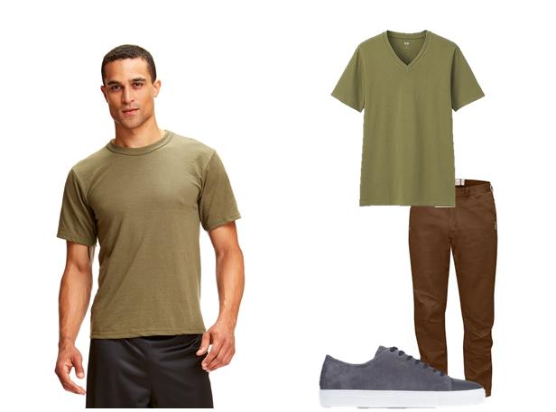 """Mua áo thun/phông cho nam giới da ngăm đen: Chọn sao cho đúng """"chuẩn""""?"""