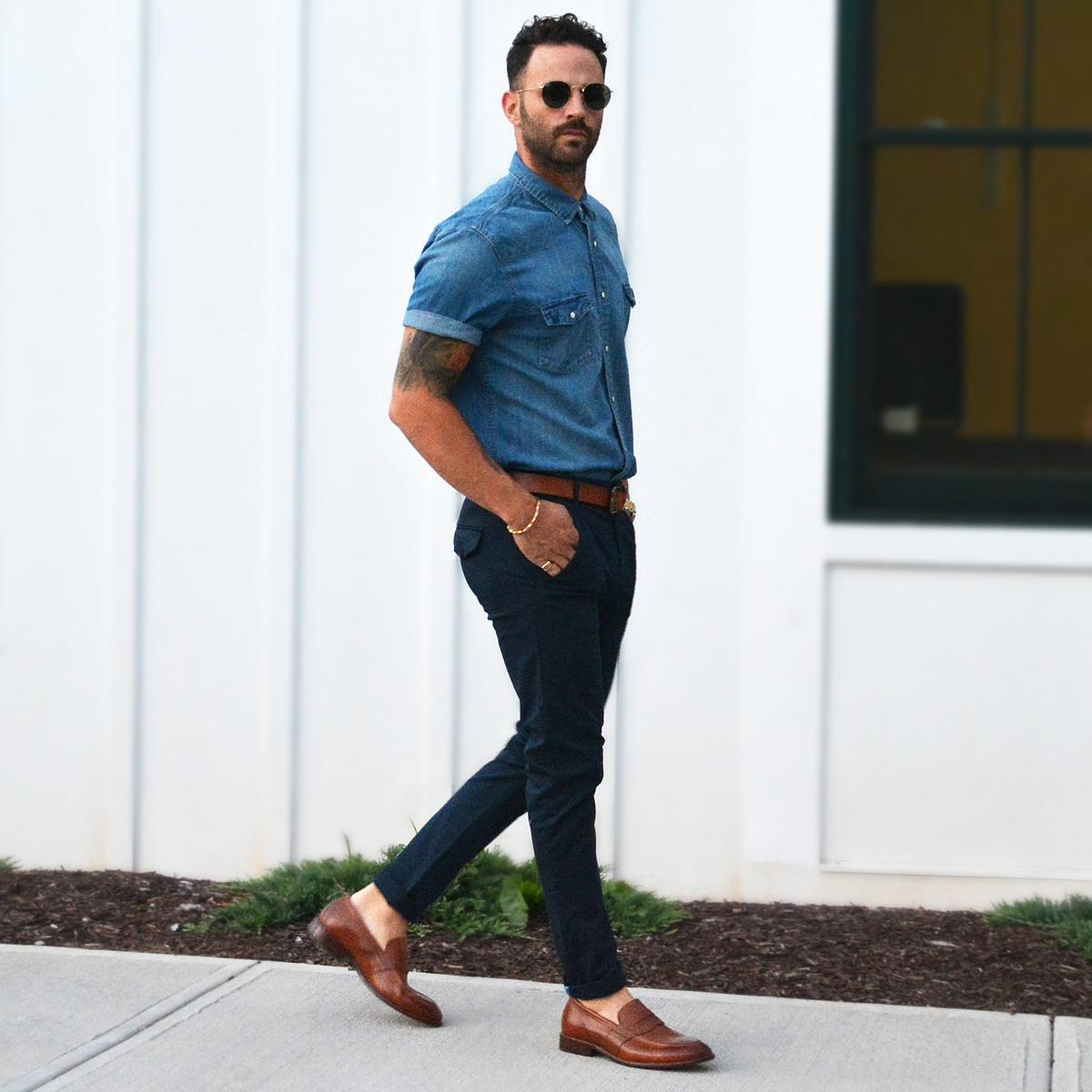 """Kết hợp giày với quần tây nam: Phối sao cho """"chuẩn"""" fashionista"""