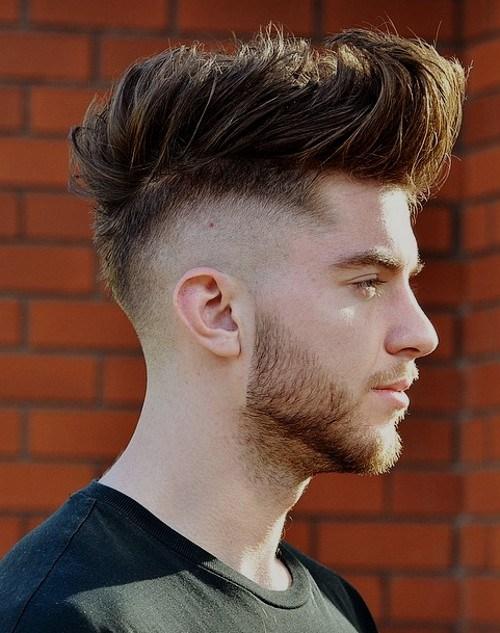 Kiểu tóc Mohican Undercut (có đường cạo cao)