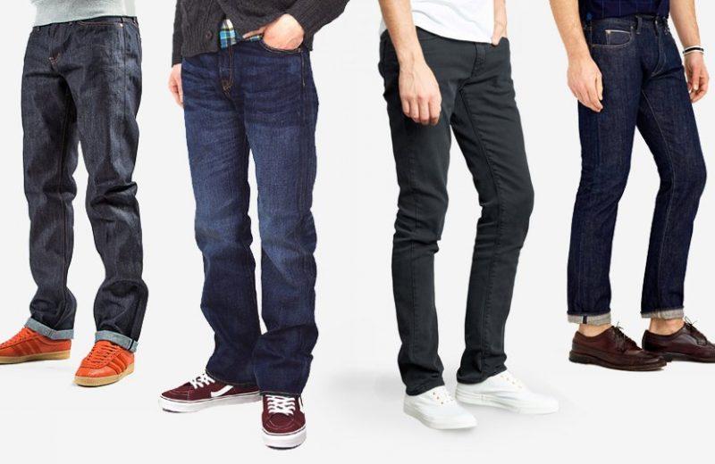 Cách chọn mua quần jeans nam