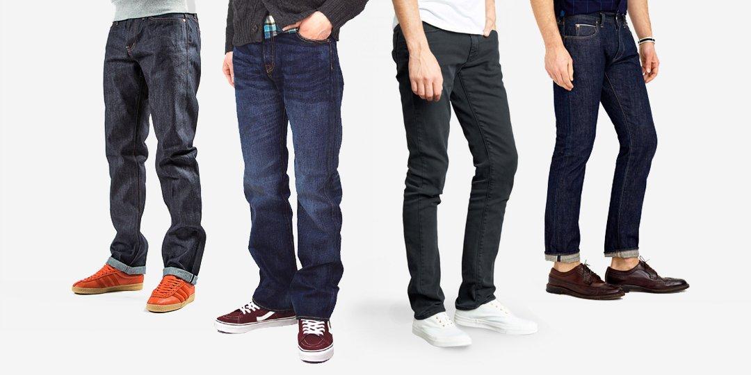 Cách chọn mua quần jeans nam: Không khó như bạn vẫn nghĩ!