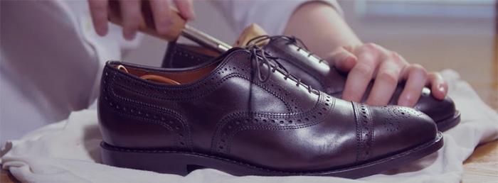 Cách đánh giày