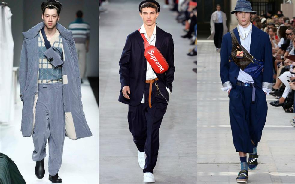 """Phối đồ với túi đeo hông cho nam: Mặc sao cho """"chuẩn""""?"""