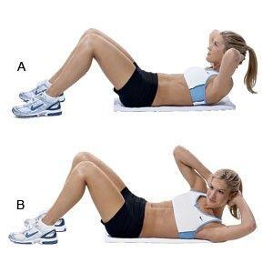 10 bài tập cường độ vừa phải giúp bạn đánh tan mỡ bụng