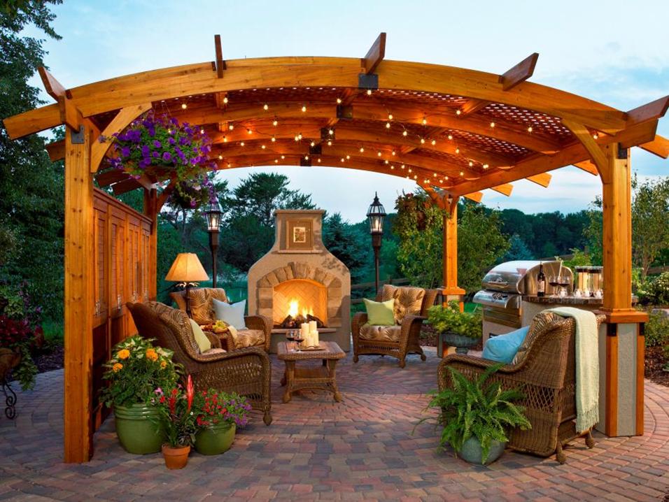 Làm thế nào để có được giàn hoa pergola đẹp nhất trong vườn nhà bạn?