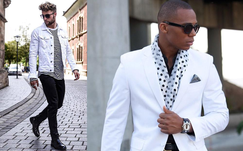 Cách phối màu quần áo nam