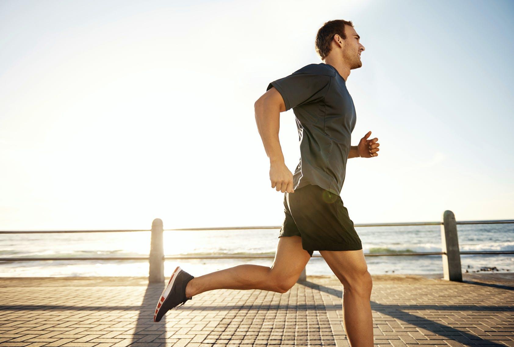 Chạy bộ vào buổi sáng