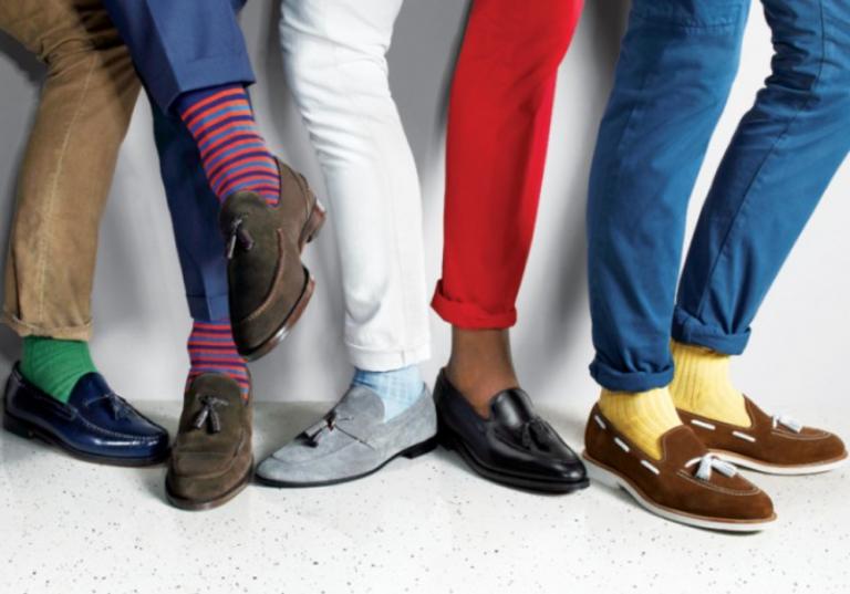 Phối quần – tất – giày