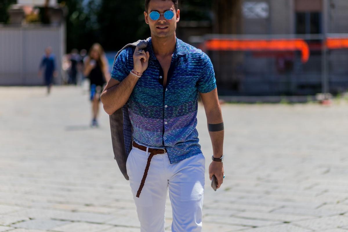Sơ vin vạt trước cho nam và nữ: 1 phút để đẹp như fashionista !