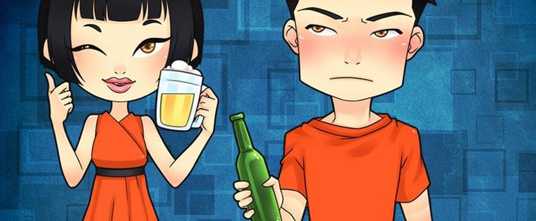 [CẢNH BÁO] Uống bia rượu bị đỏ mặt: Đừng chủ quan!