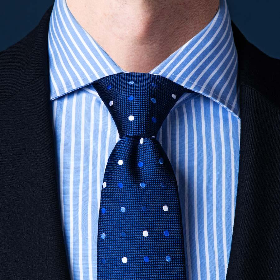 Cách thắt cà vạt kiểu Pratt
