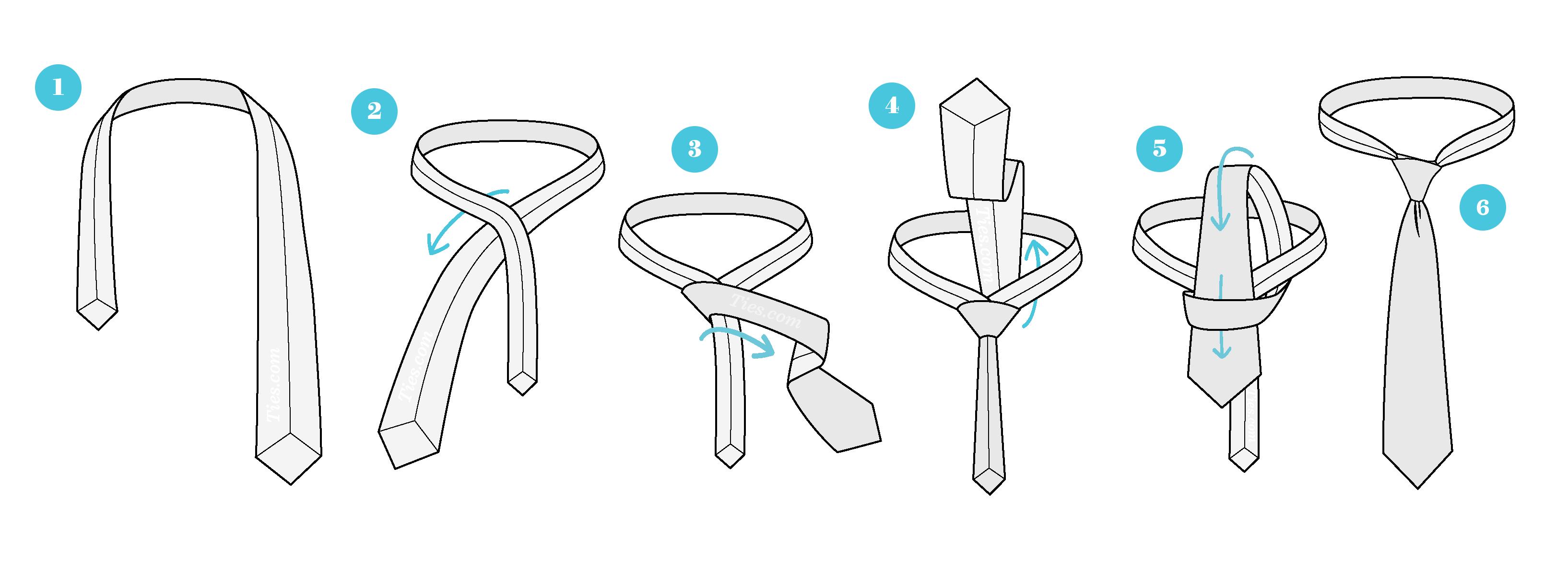 Cách thắt cà vạt kiểu Simple