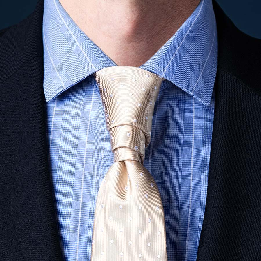 Cách thắt cà vạt kiểu Van Wijk