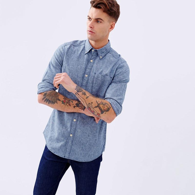 Mặc trang phục chất liệu chambray sao cho đúng?