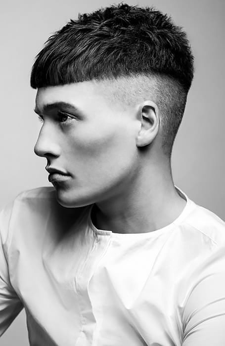 Các kiểu tóc French Crop căn bản