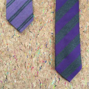 Cà vạt thông thường và cà vạt dài