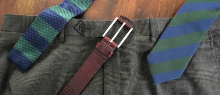 chiều dài cà vạt chuẩn