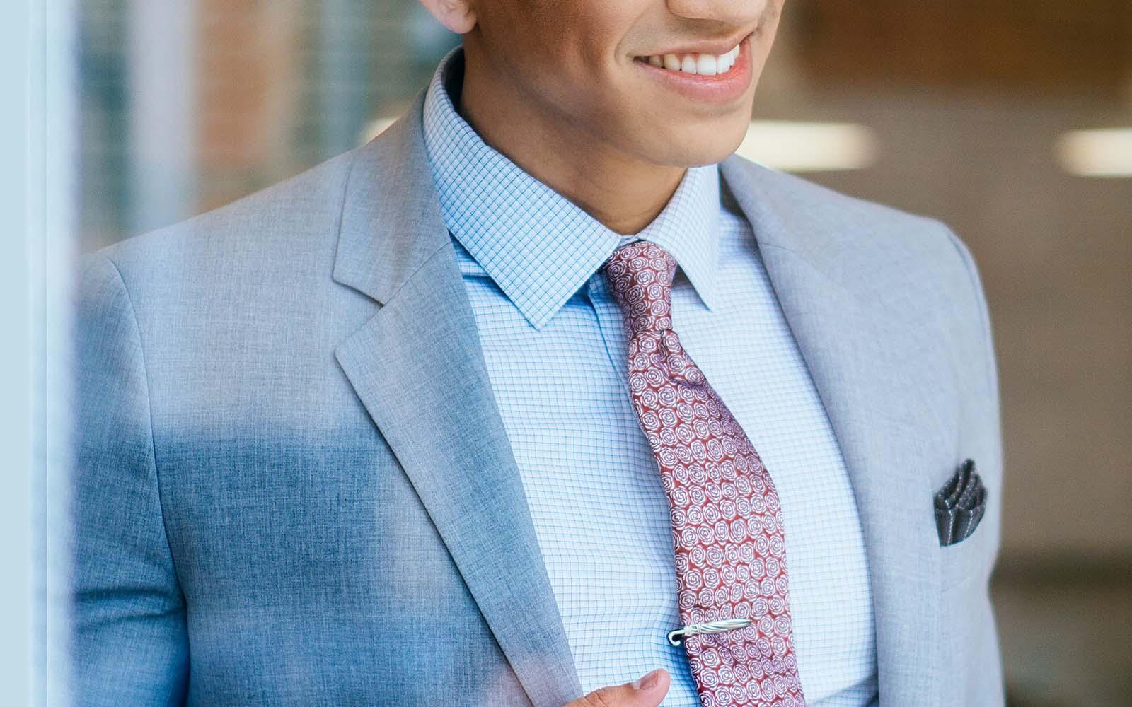 Chiều dài của cà vạt: Cẩm nang toàn tập (+Infographic)