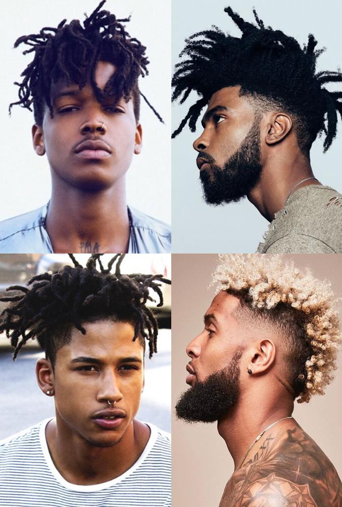 Undercut với tóc tết/Afro