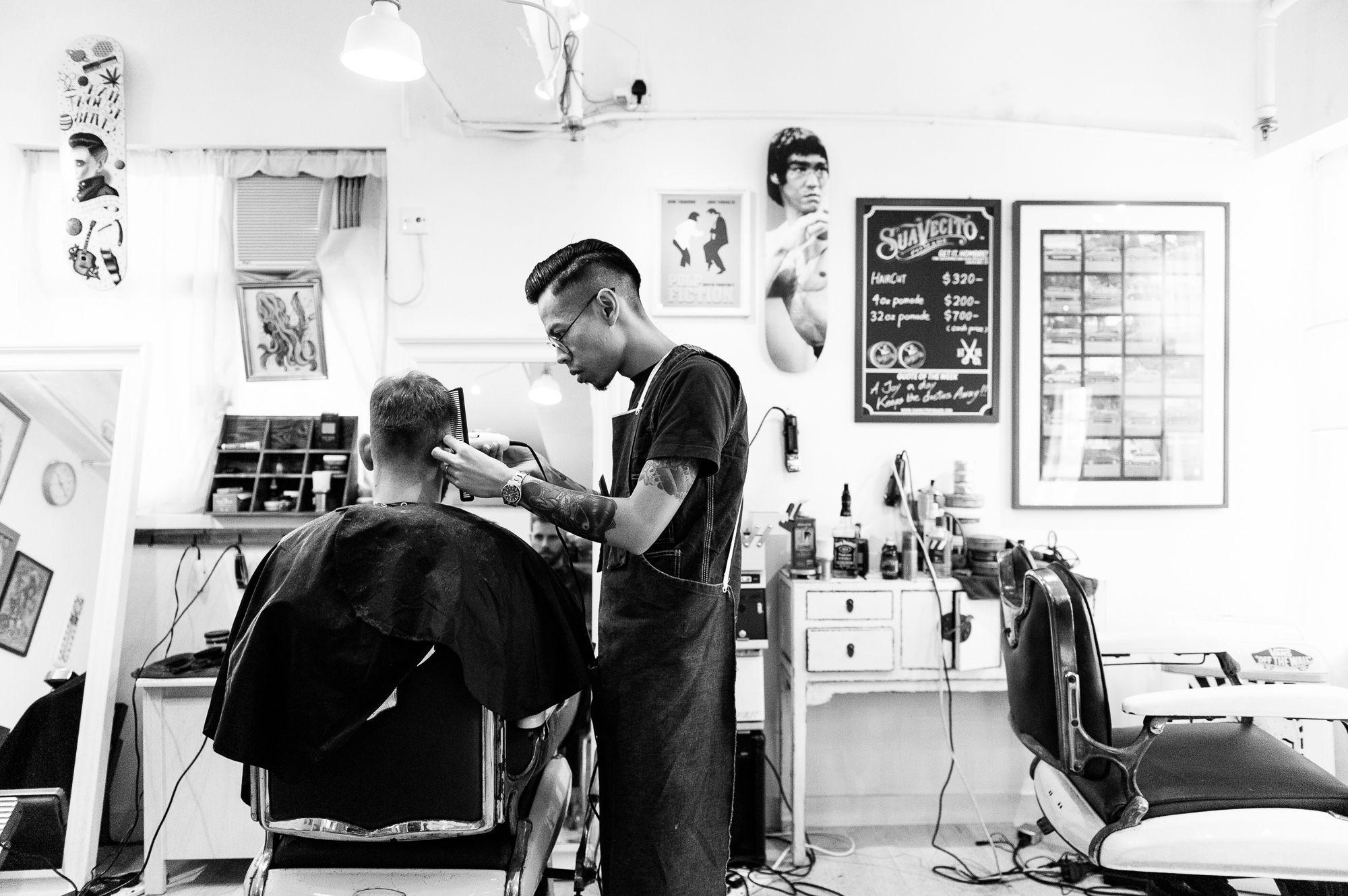 Cắt tóc nam: Nghệ thuật đằng sau những kiểu đầu đẹp!