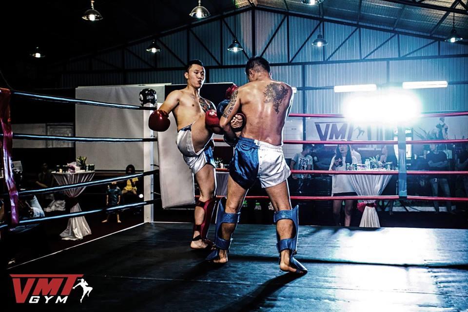 5.Thi đấu đối kháng trong Muay Thai
