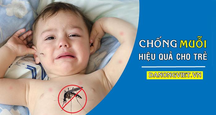 Cách chống muỗi HIỆU QUẢ 100% cho trẻ em và bé sơ sinh