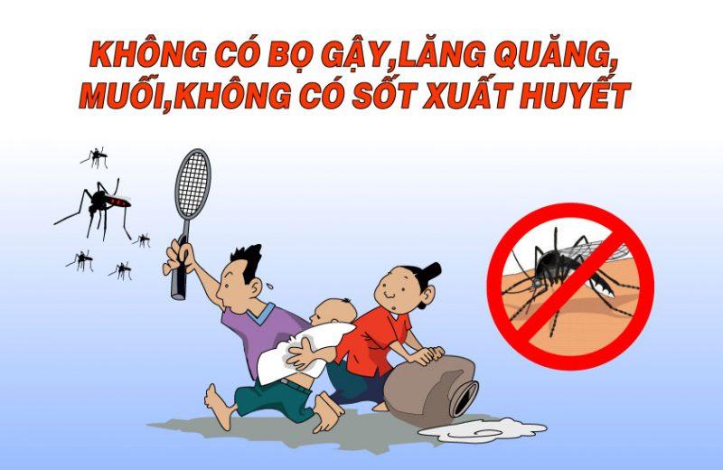 Cách diệt ấu trùng muỗi và lăng quăng hiệu quả nhất