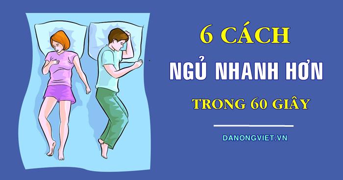 6 cách dễ ngủ nhanh chóng và hiệu quả (Chỉ trong 1 PHÚT)