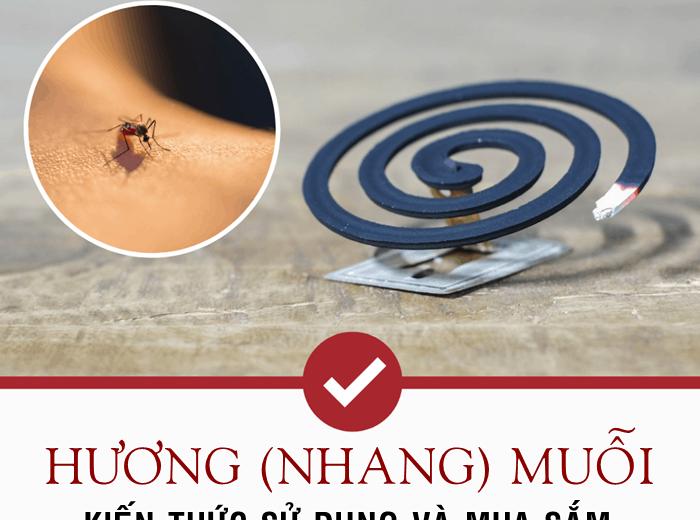 """Nhang muỗi: Bạn đã mua """"chuẩn"""" & đốt đúng chưa?"""