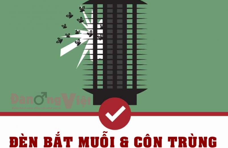 Đèn diệt muỗi và côn trùng