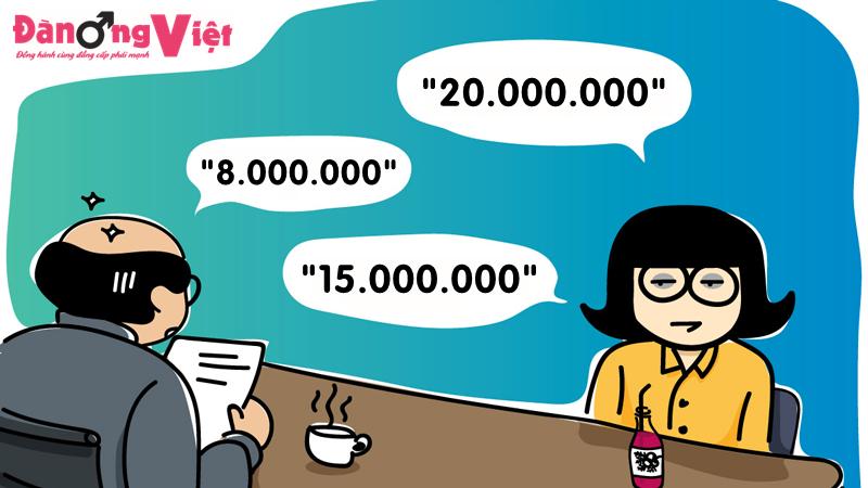 """Đàm phán lương là một nghệ thuật, chứ không phải là """"cò kè bớt một thêm hai""""."""
